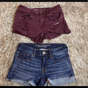 AE jean shorts bundle!